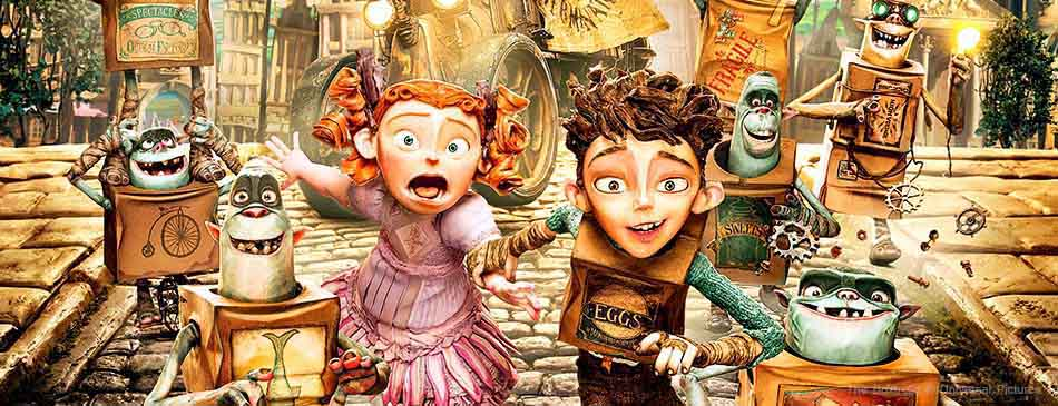 A scene from the children and family animation The Boxtrolls